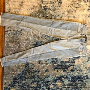 Hollisterco two- toned skinny jeans